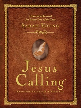 Jesus Calling Lenten Reading and Reflection Companion