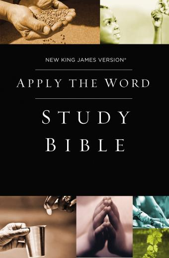 Apply the Word Study Bible- Free download with purchase