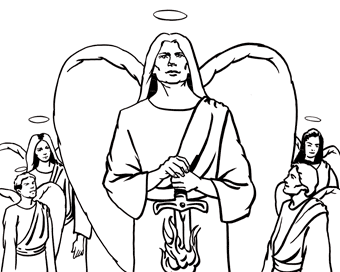 Heaven Is for Real Coloring Pages