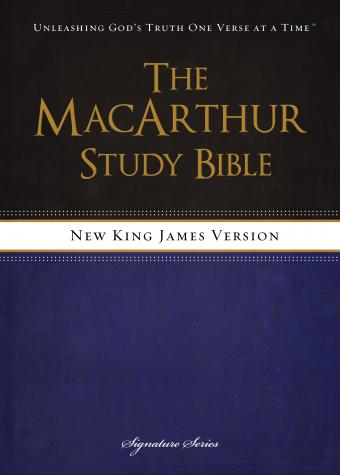 NKJV MacArthur Study Bible- Free Download with Purchase