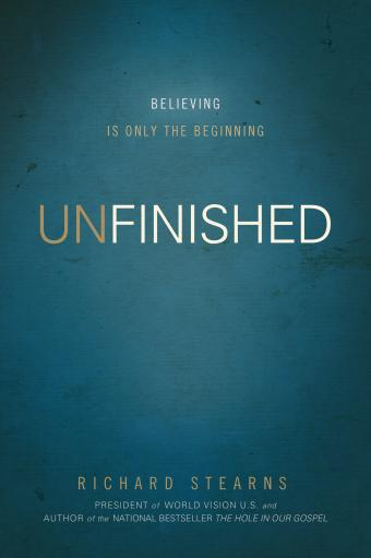 Free preview: UNFINISHED by Richard Stearns