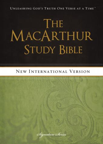 NIV MacArthur Study Bible - Free Book of John